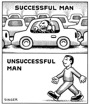 Successful Man & Unsuccessful Man